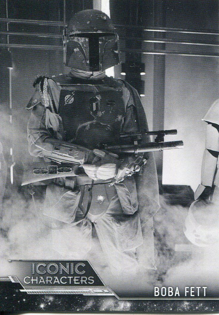 Star Wars ESB Black /& White Iconic Characters Chase Card IC-14 Zuckuss