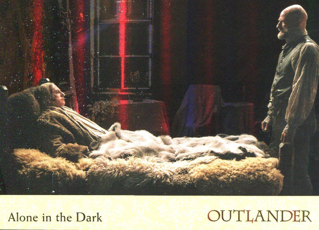 Outlander Season 2 Gold Jacobite Seal Base Card #64 Alone in the Dark