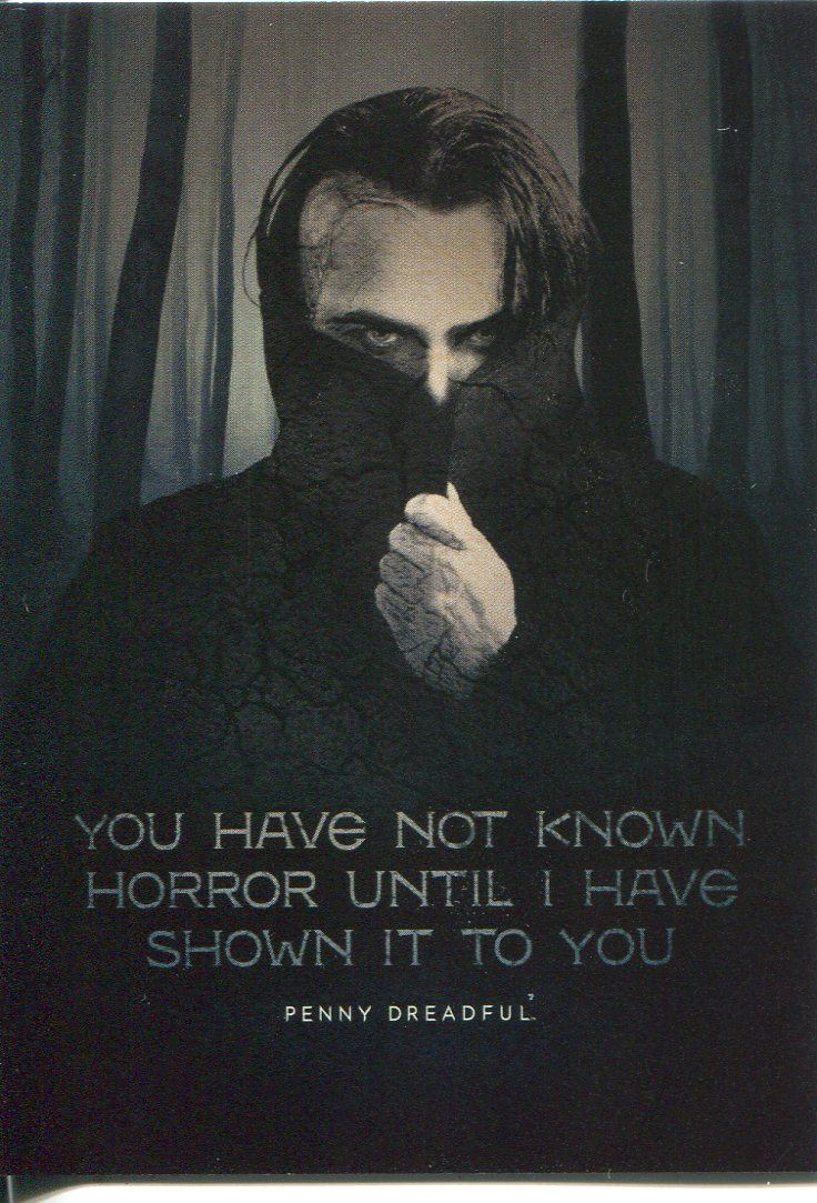 Penny Dreadful Season 1 Quotable Chase Card Q9 The Creature