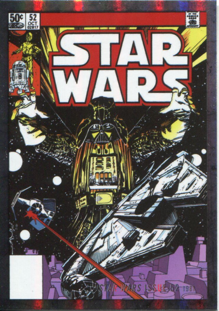 Star Wars Evolution 2016 Evolution Of Marvel Comics Chase Card EC-17