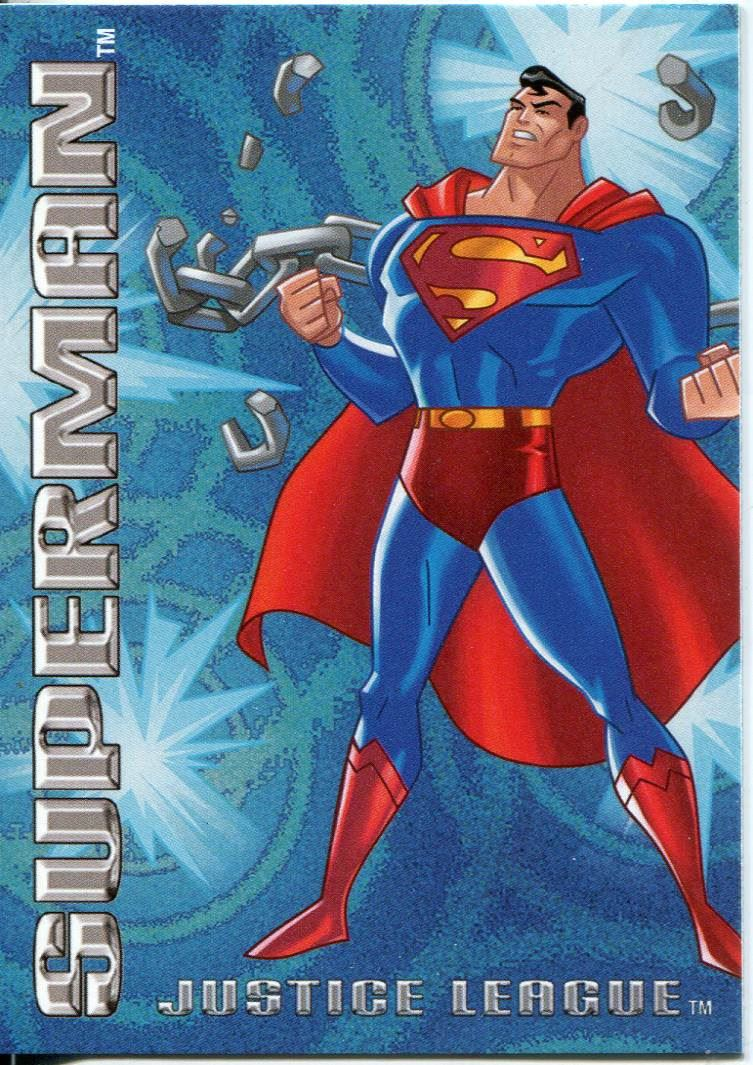 Details About Justice League 2003 Postopia Exclusive Promo Card 6 Of 7