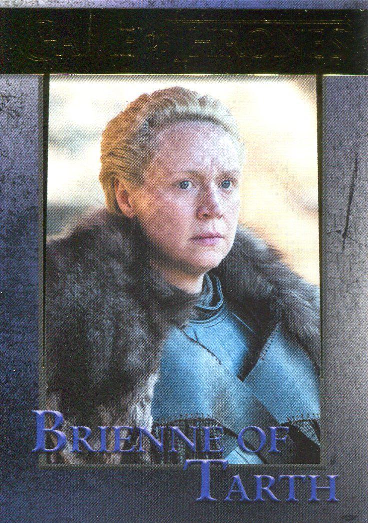 Brienne Of Tarth #35 Game Of Thrones Season 7 Rittenhouse 2018 Trade Card C2426