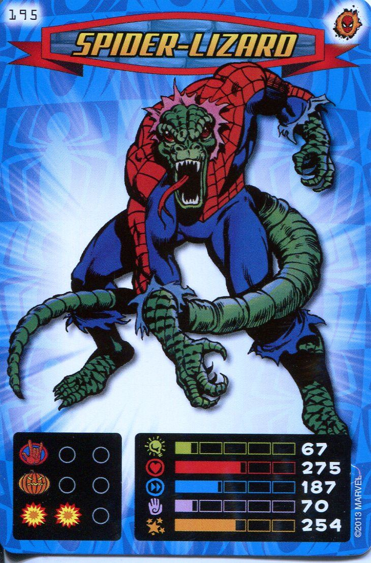 Spiderman Heroes And Villains Card #043 Cardiac
