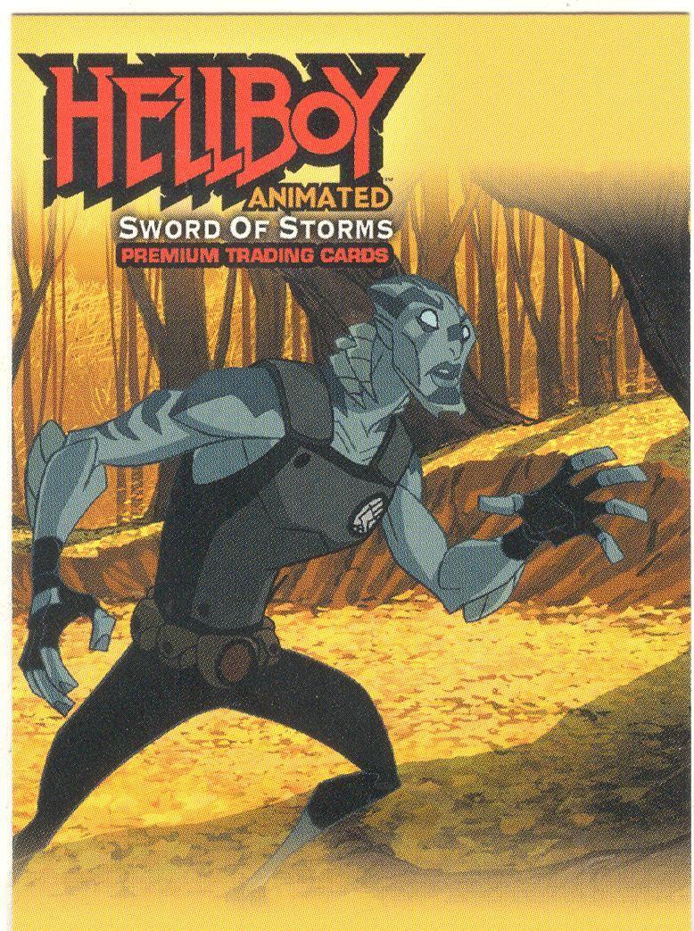 Hellboy Animated Promo Card HA-T
