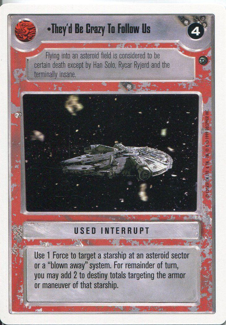 Star Wars CCG Dagobah Unlimited WB Starship Levitation