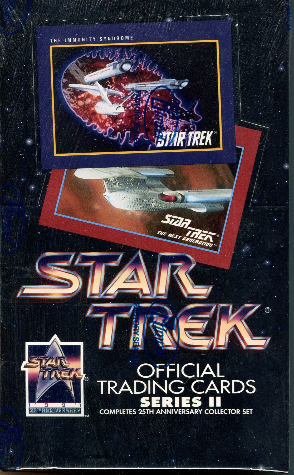 Star Trek The Original Series 40th Anniversary series  2 sealed Box