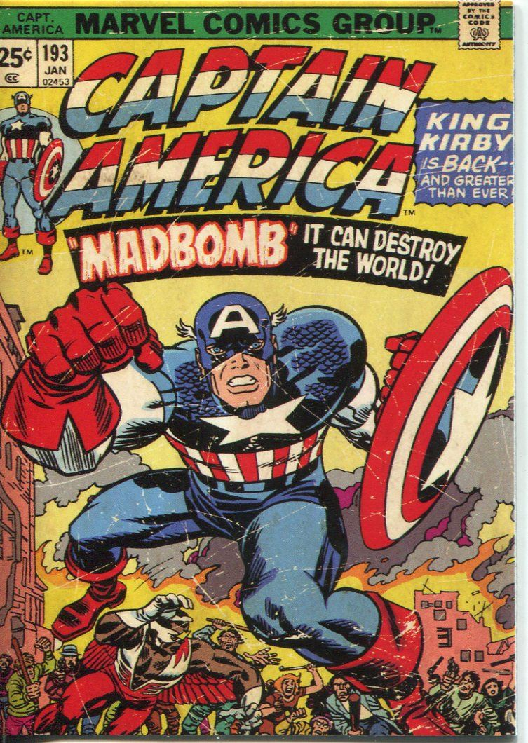 captain america the movie comic covers chase card c-6 5053075913916