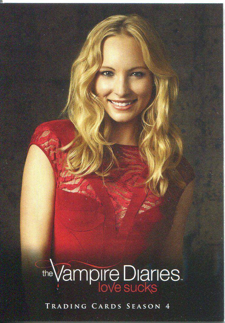 Vampire Diaries Season 4 Studio Chase Card S7 Caroline Forbes Ebay