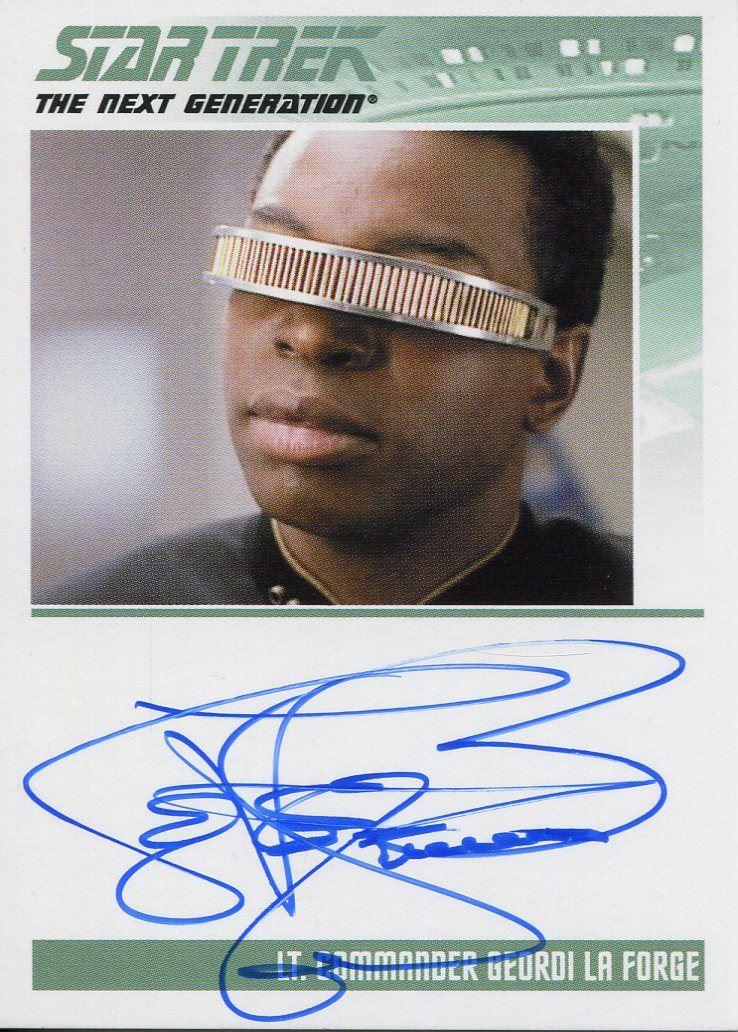 Star Trek TNG Heroes /& Villains Parallel Base Card #37