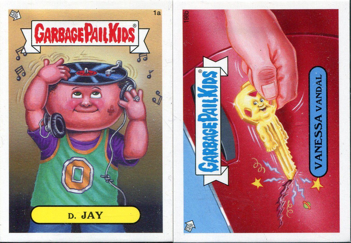 JAY Garbage Pail Kids Mini Cards 2013 Base Card 1a D
