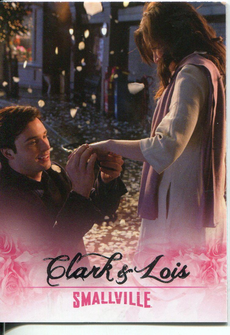 Smallville Seasons 7-10 Lois /& Clarke Chase Card LC8