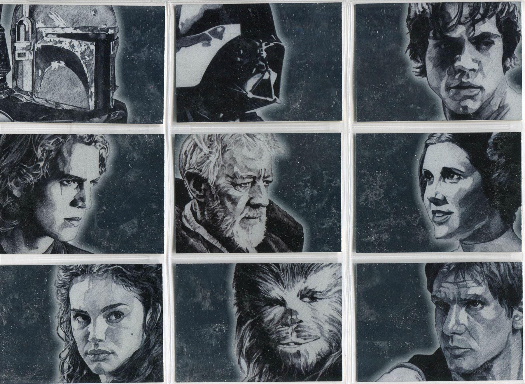 Star Wars Galaxy Series 1 Too-Onebee #113 Card C90