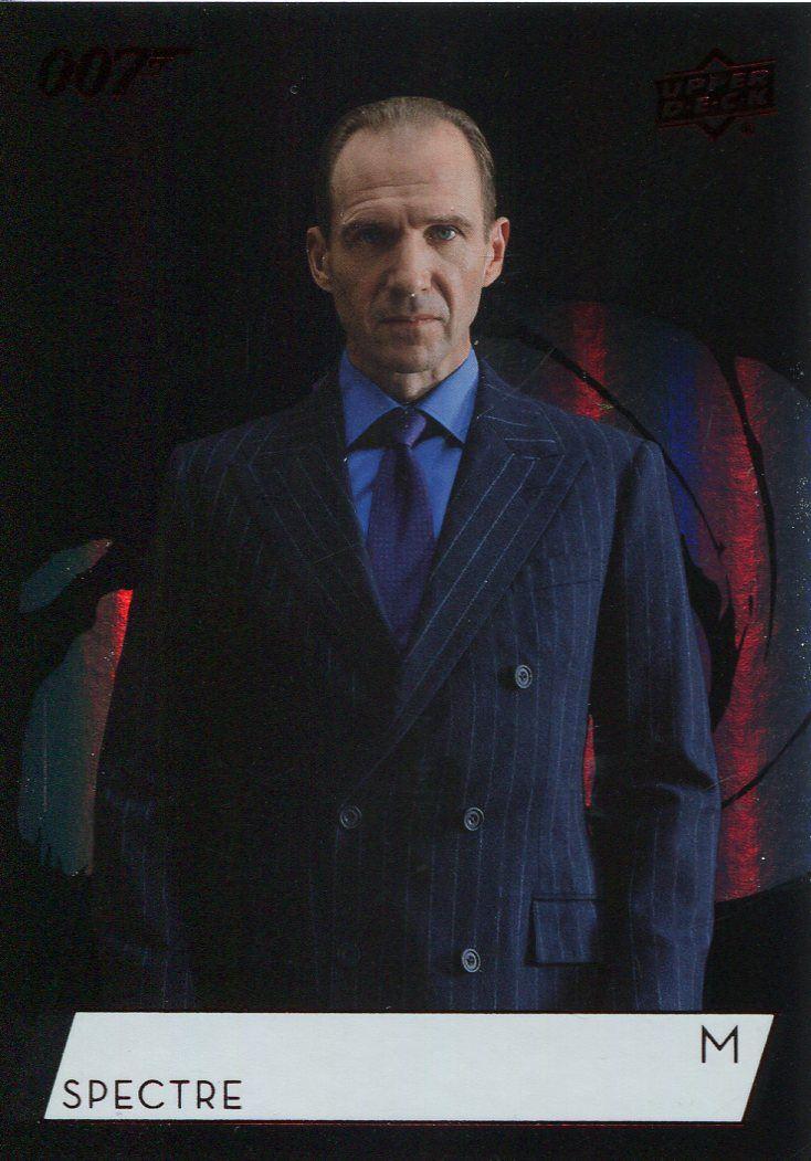 James Bond Collection SP Base Card #145 Ralph Fiennes as M