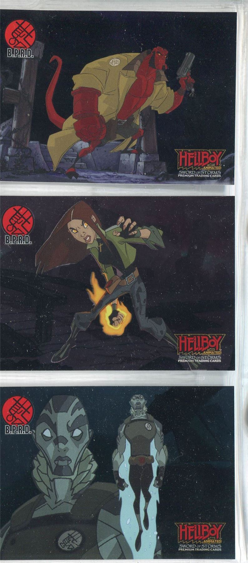 Hellboy Animated Box Loader Chase Card BL3