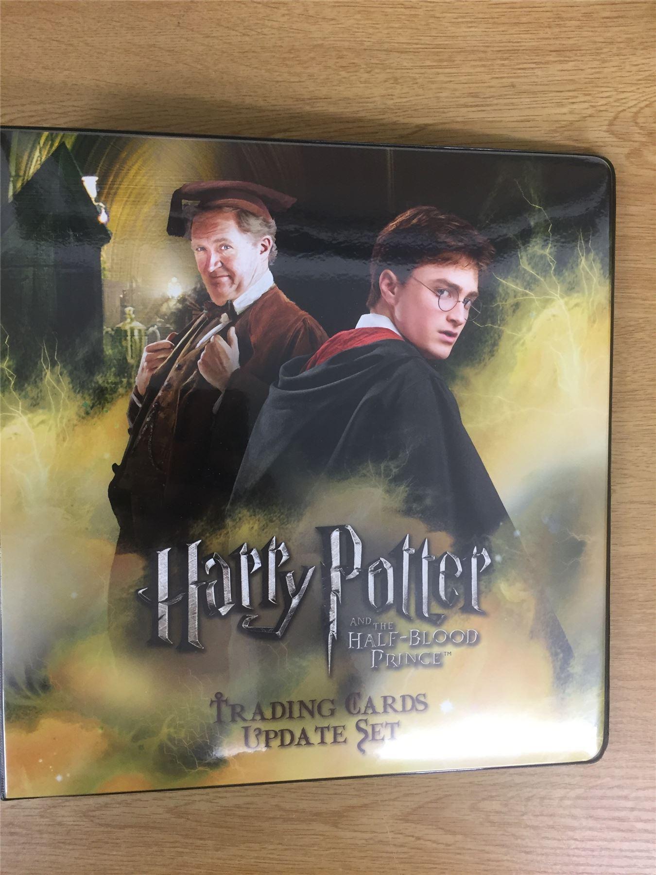 Harry Potter /& The Prisoner Of Azkaban Update Official Artbox Binder