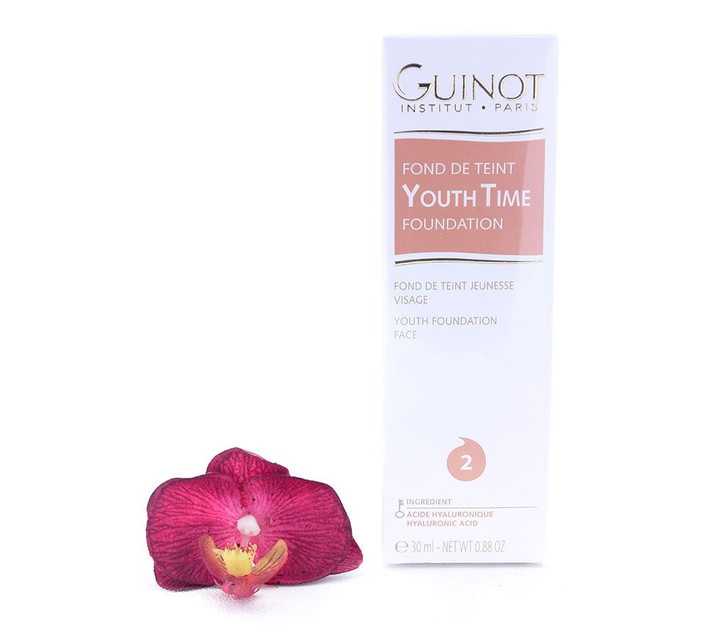 Guinot Youth Time Face Foundation 2 30ml Make Up Cosmetics Ebay