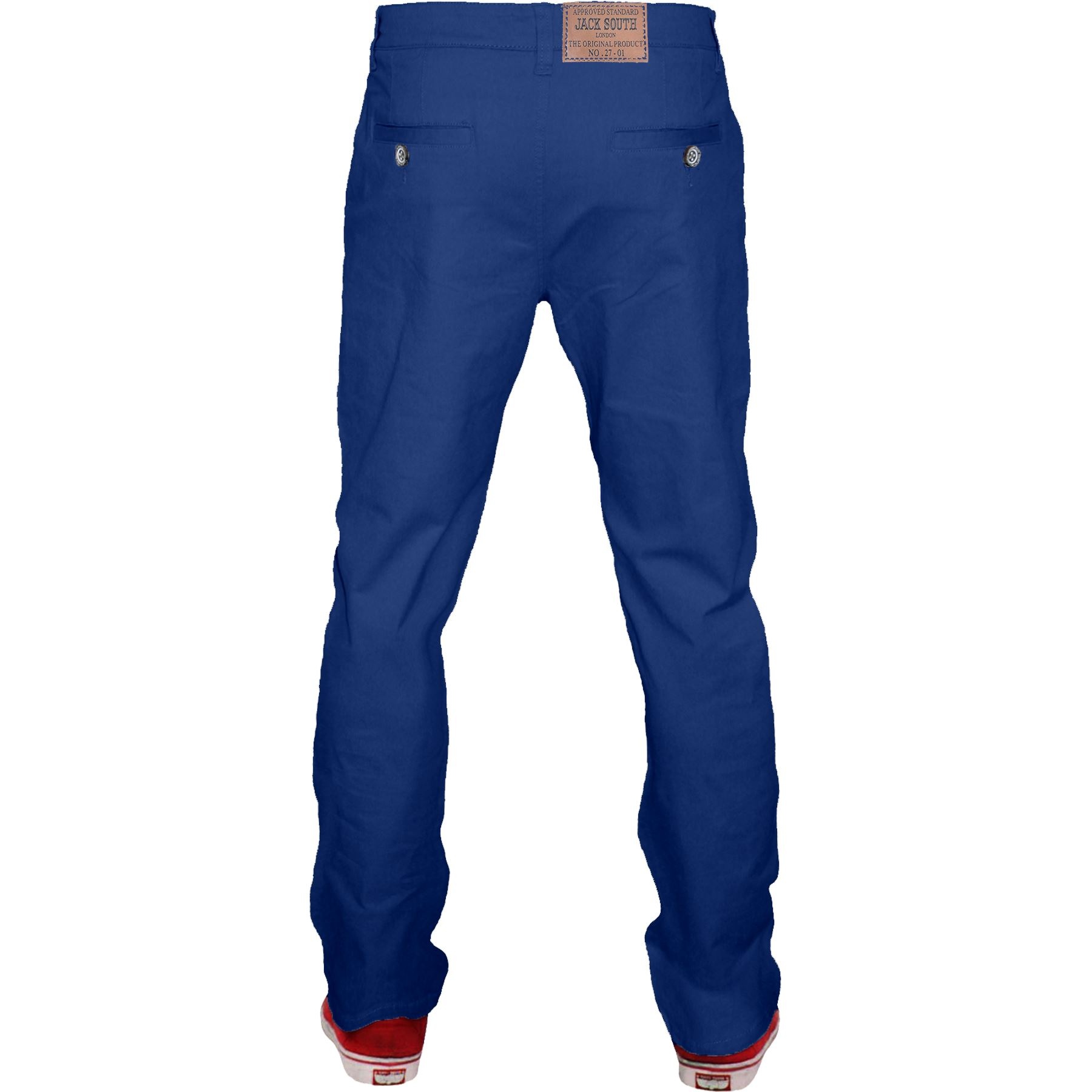 Mens-Chino-Classic-Regular-Fit-Trouser-Casual-Stretch-Spandex-Pants-Size-32-40 thumbnail 22