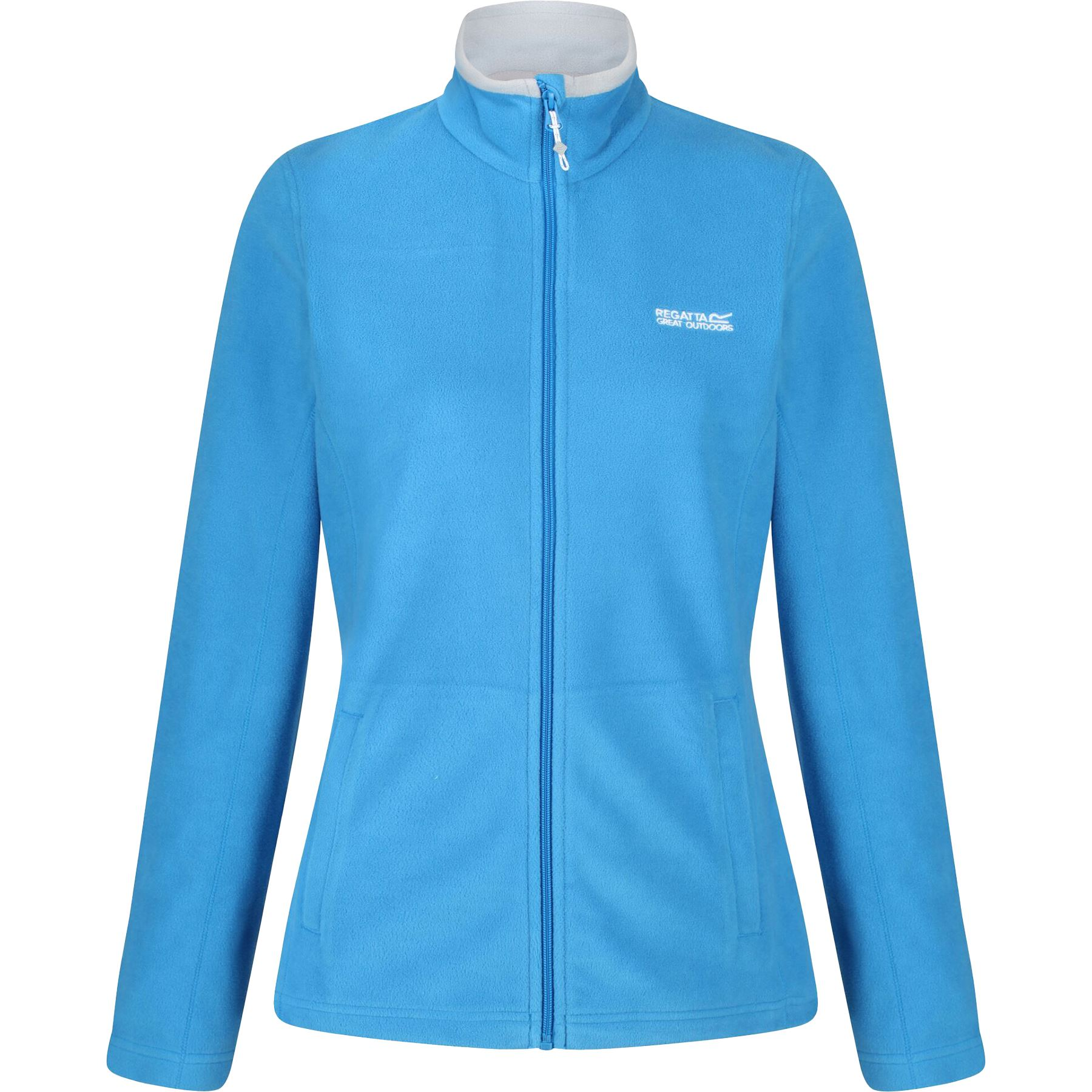 New Regatta Ladies Womens Micro Full Zip Fleece Top Anti Pill Winter Jacket 6-20