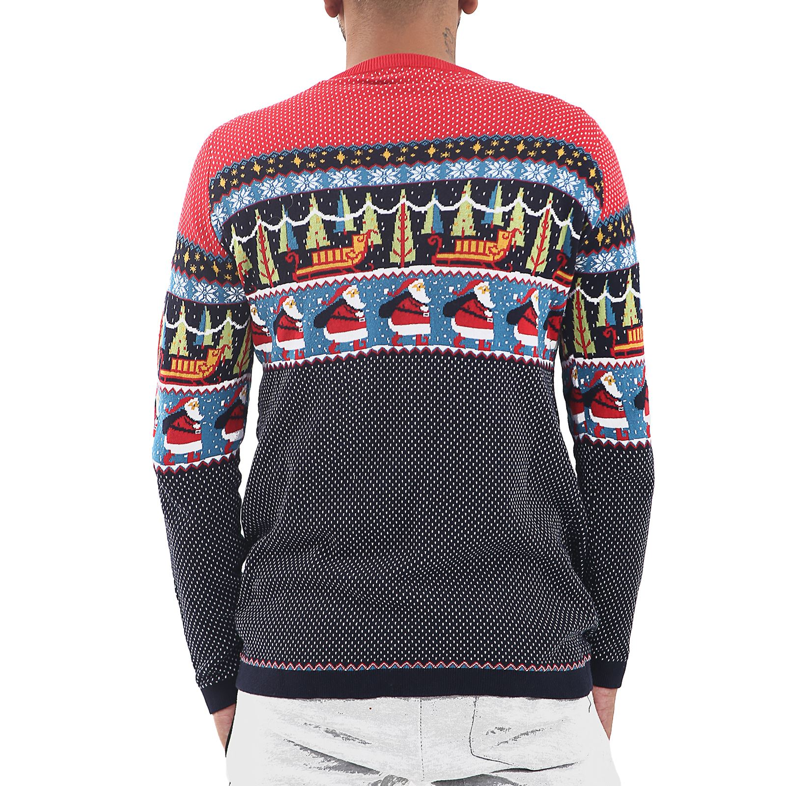 Mens-Ladies-Ex-Store-Matching-Christmas-Sweater-Jumper-Sweatshirt-Xmas-His-Hers thumbnail 4