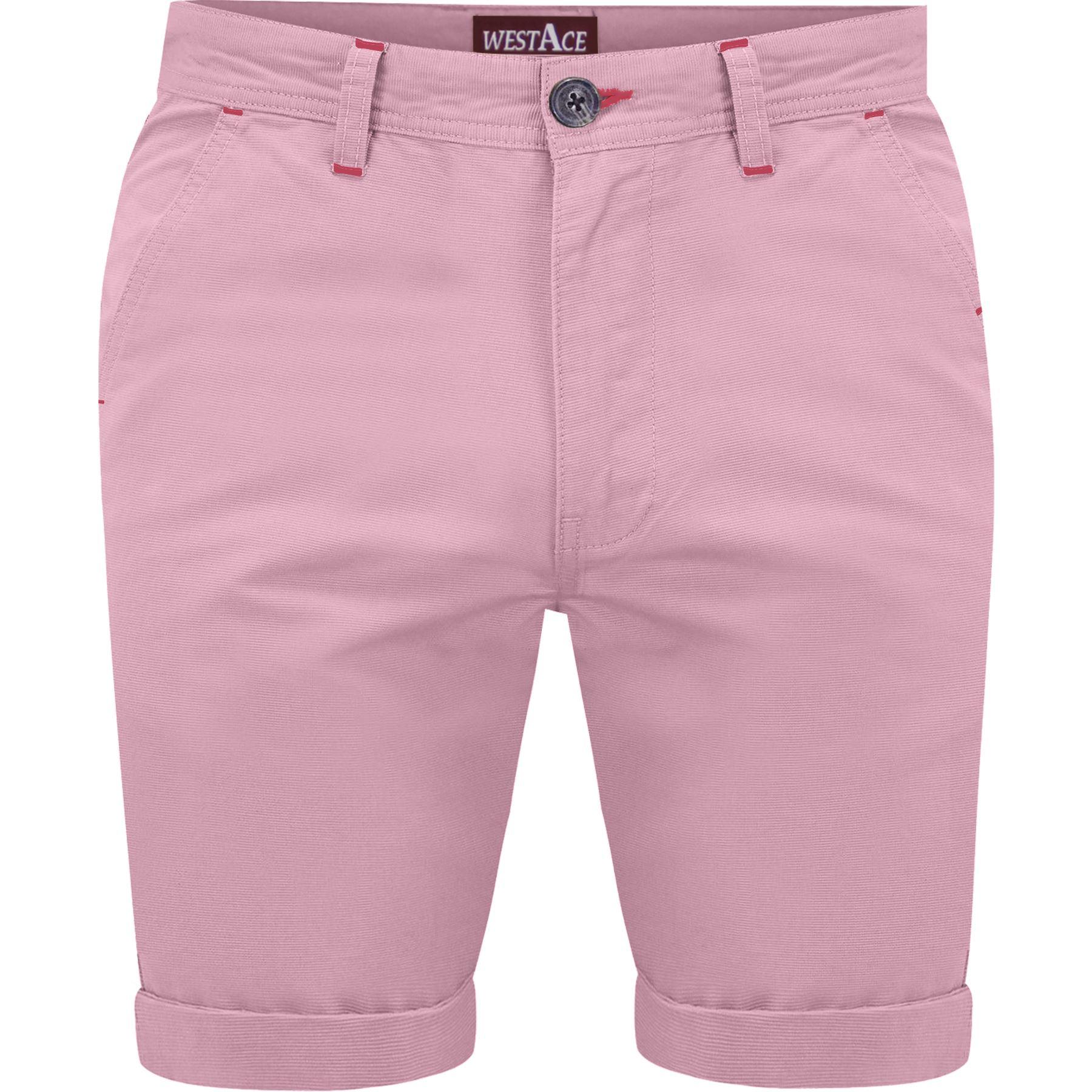 Mens-Chino-Shorts-Cotton-Summer-Casual-Jeans-Cargo-Combat-Half-Pants-Casual-New thumbnail 7