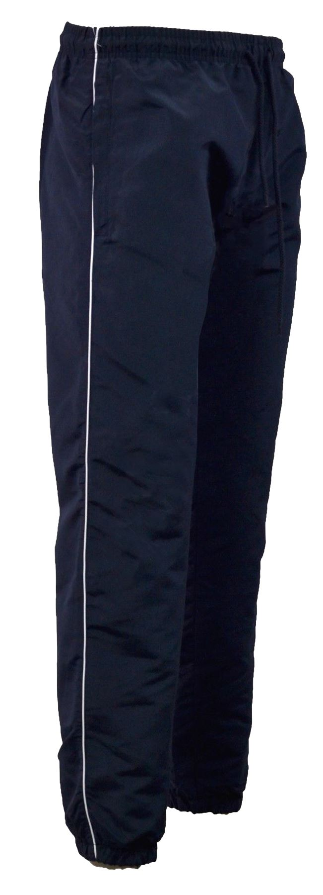Homme Pantalon à rayures verticales Sport Gym Course Jogging Poches Zippées Jogging Bottoms