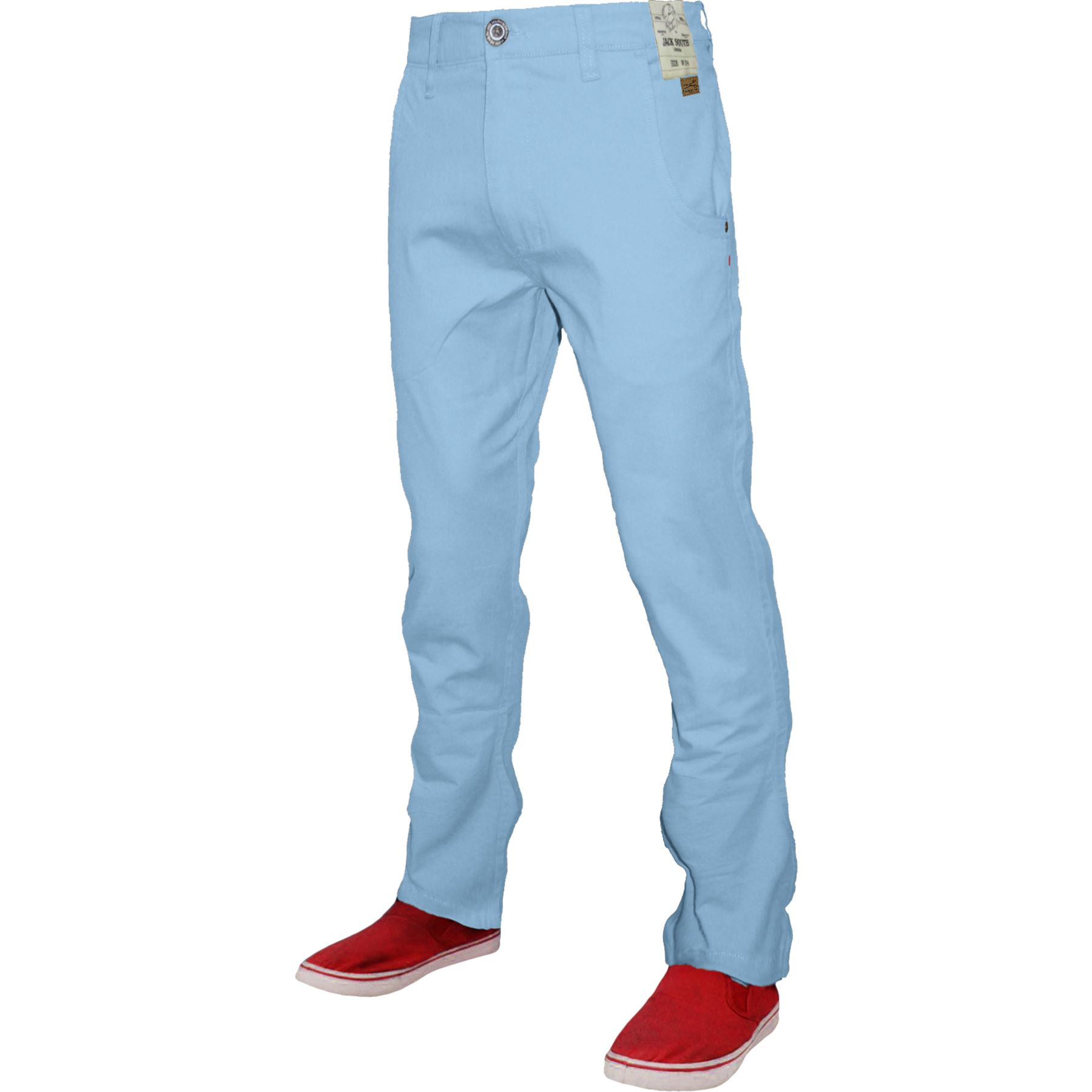 Mens-Chino-Classic-Regular-Fit-Trouser-Casual-Stretch-Spandex-Pants-Size-32-40 thumbnail 12
