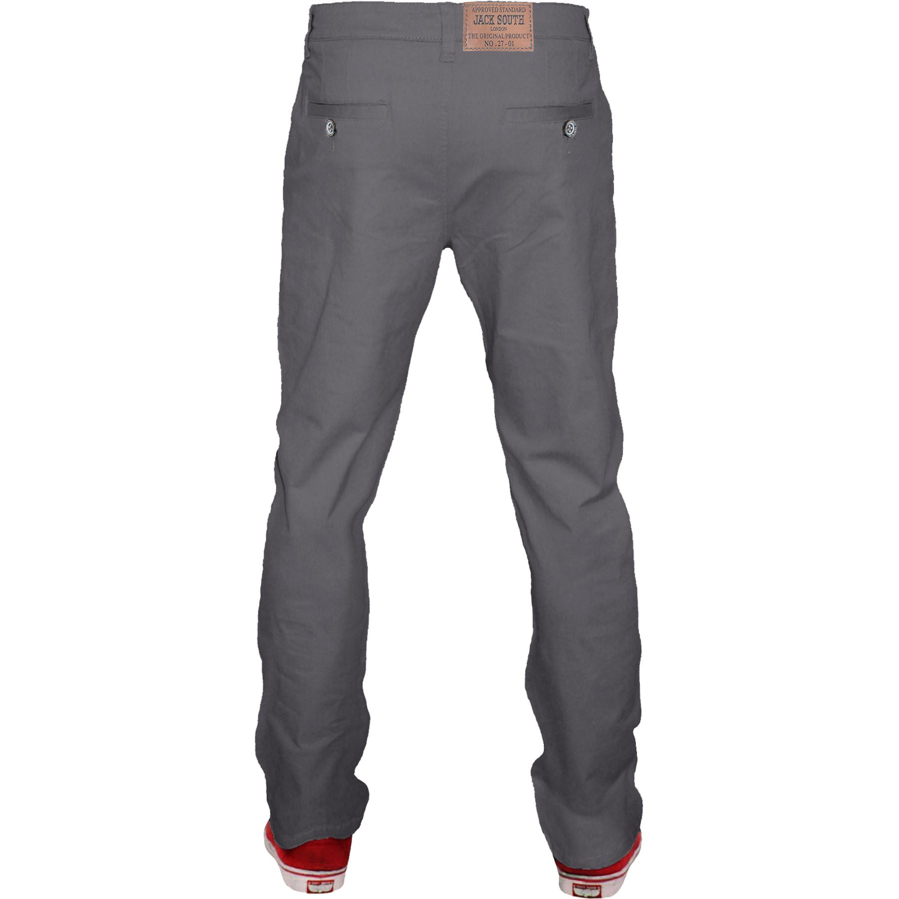 Mens-Chino-Classic-Regular-Fit-Trouser-Casual-Stretch-Spandex-Pants-Size-32-40 thumbnail 10