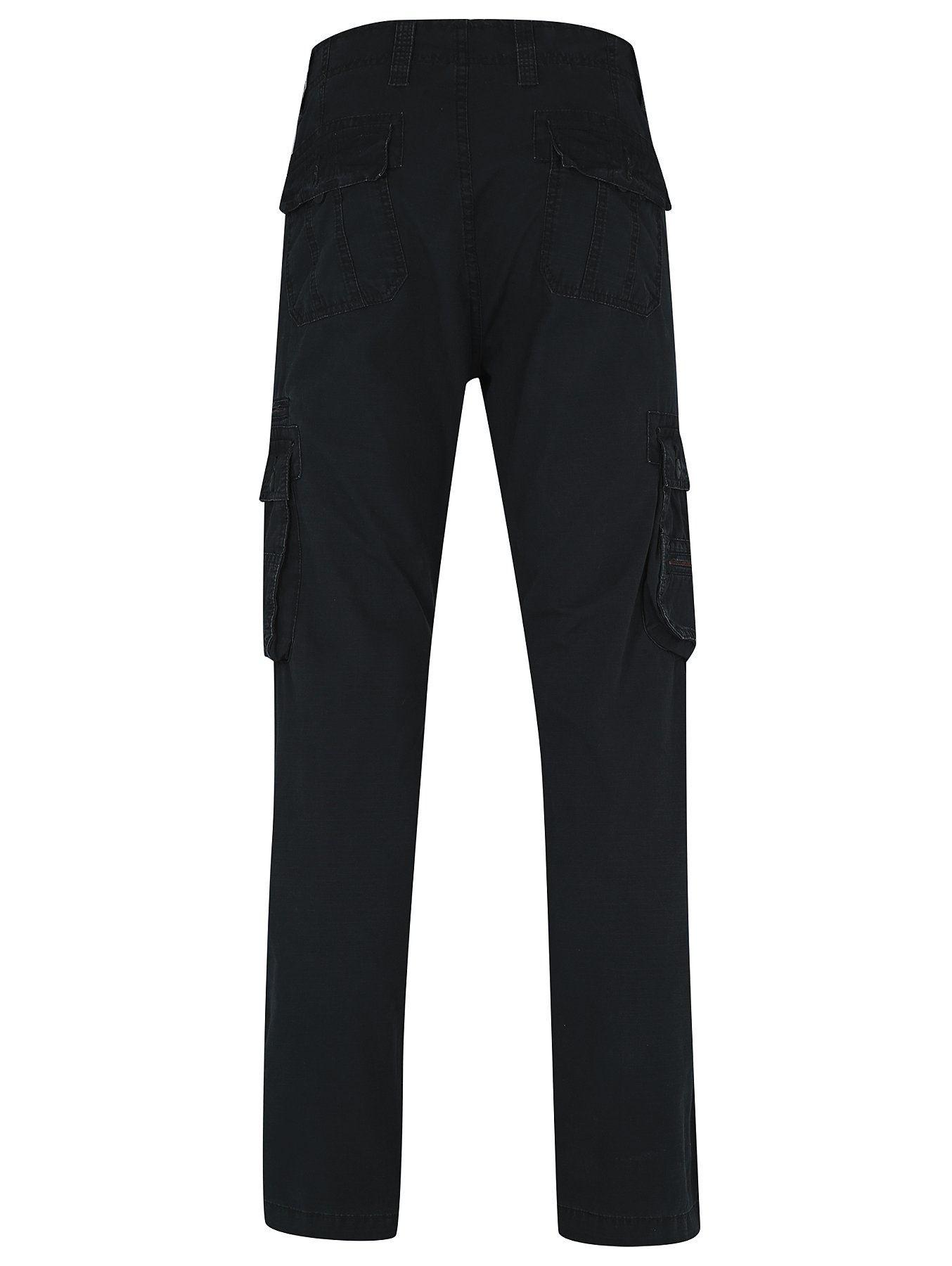 Men-s-Cargo-Combat-Work-Heavy-Trousers-100-Cotton-Plain-Pants-Ex-Store thumbnail 3