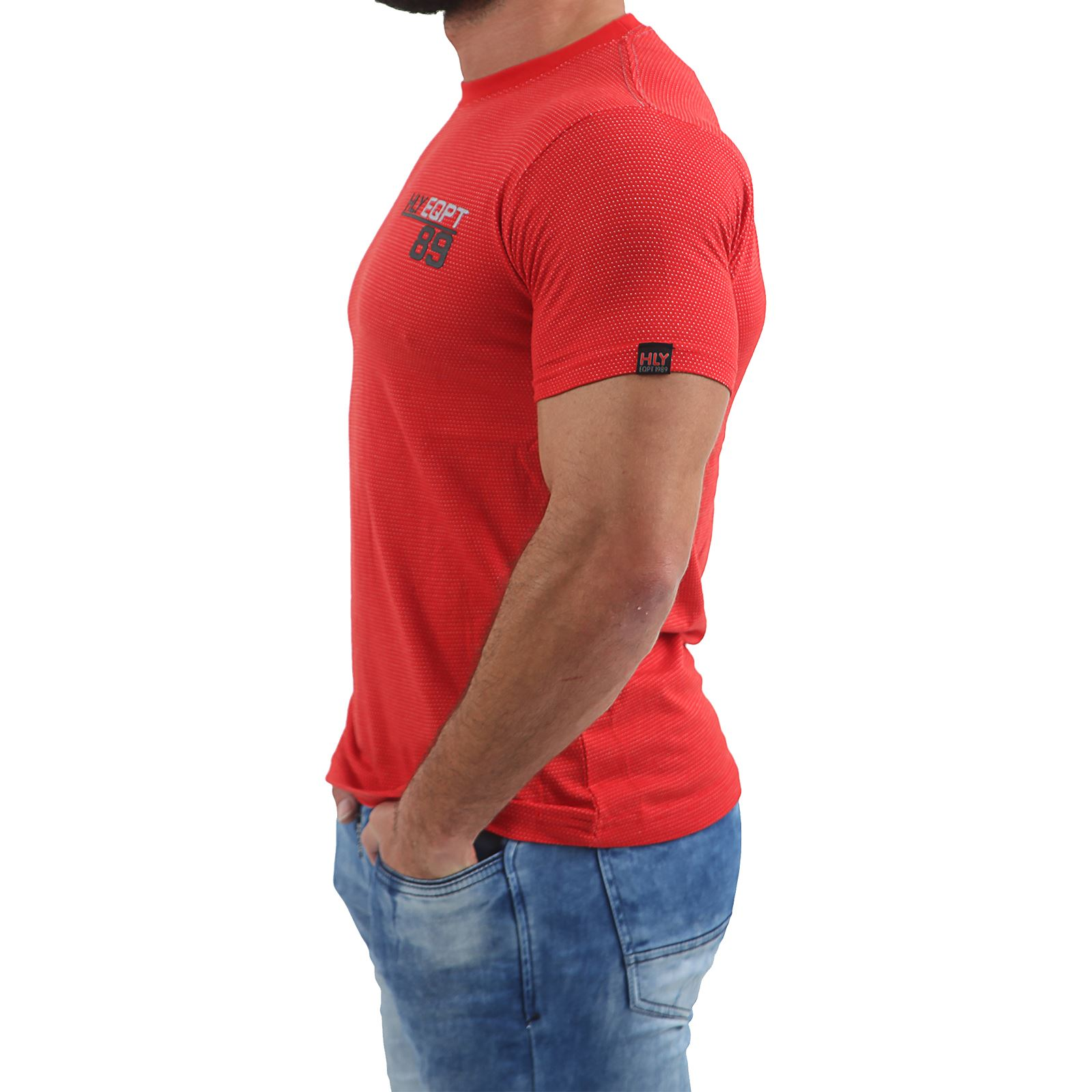 Mens-HLY-EQPT-Printed-T-Shirt-100-Cotton-Gym-Athletic-Training-Tee-Top-Summer thumbnail 44