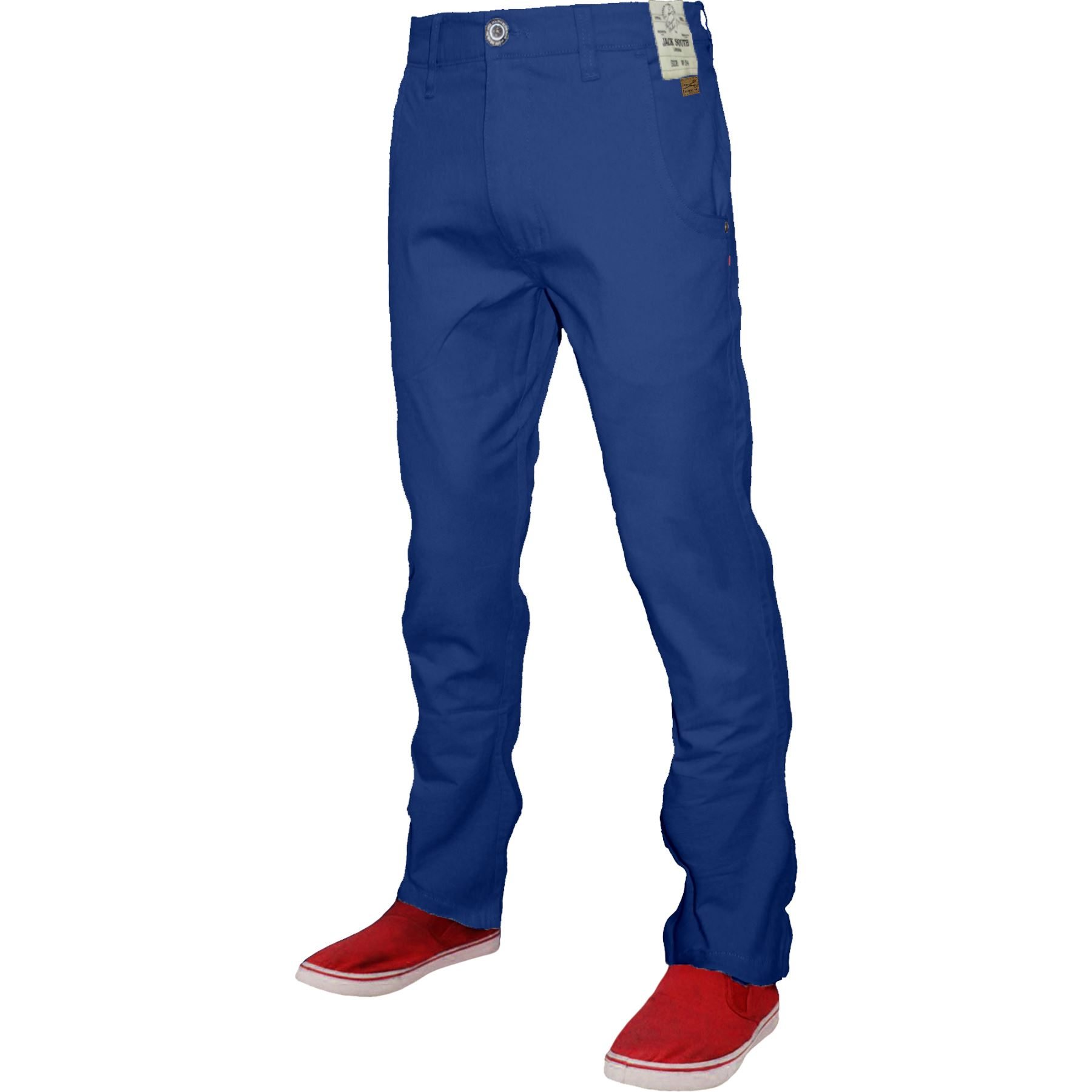 Mens-Chino-Classic-Regular-Fit-Trouser-Casual-Stretch-Spandex-Pants-Size-32-40 thumbnail 21