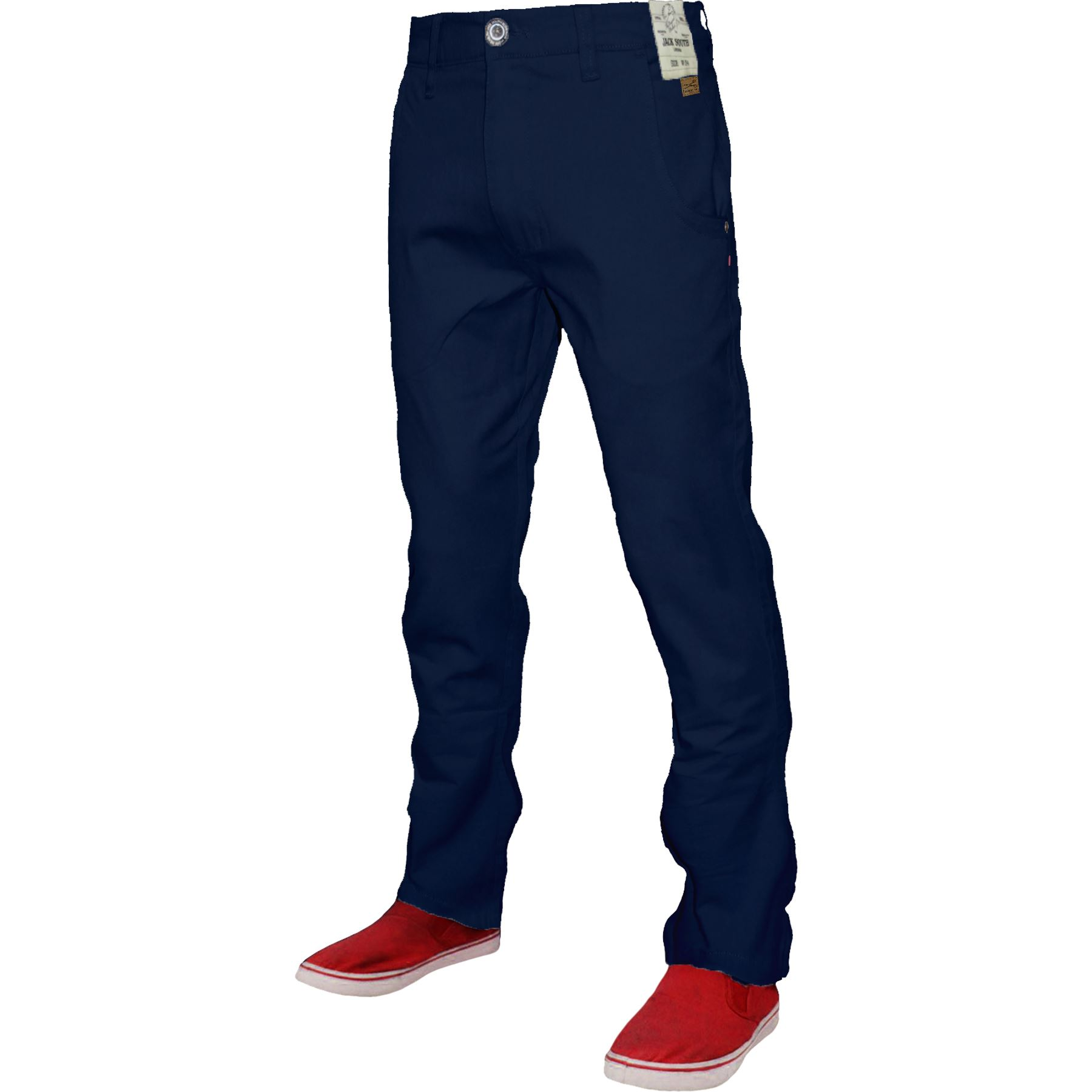 Mens-Chino-Classic-Regular-Fit-Trouser-Casual-Stretch-Spandex-Pants-Size-32-40 thumbnail 15
