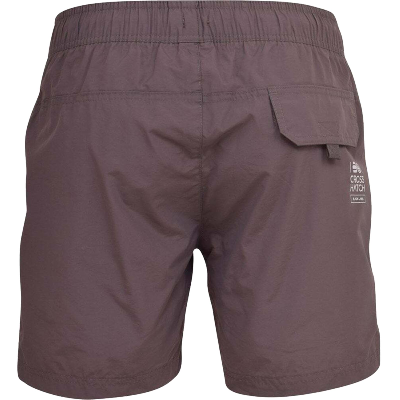 Mens-Crosshatch-Shorts-Drawcord-Mesh-Lined-Designer-Beach-Casual-Swimming-Trunks thumbnail 15