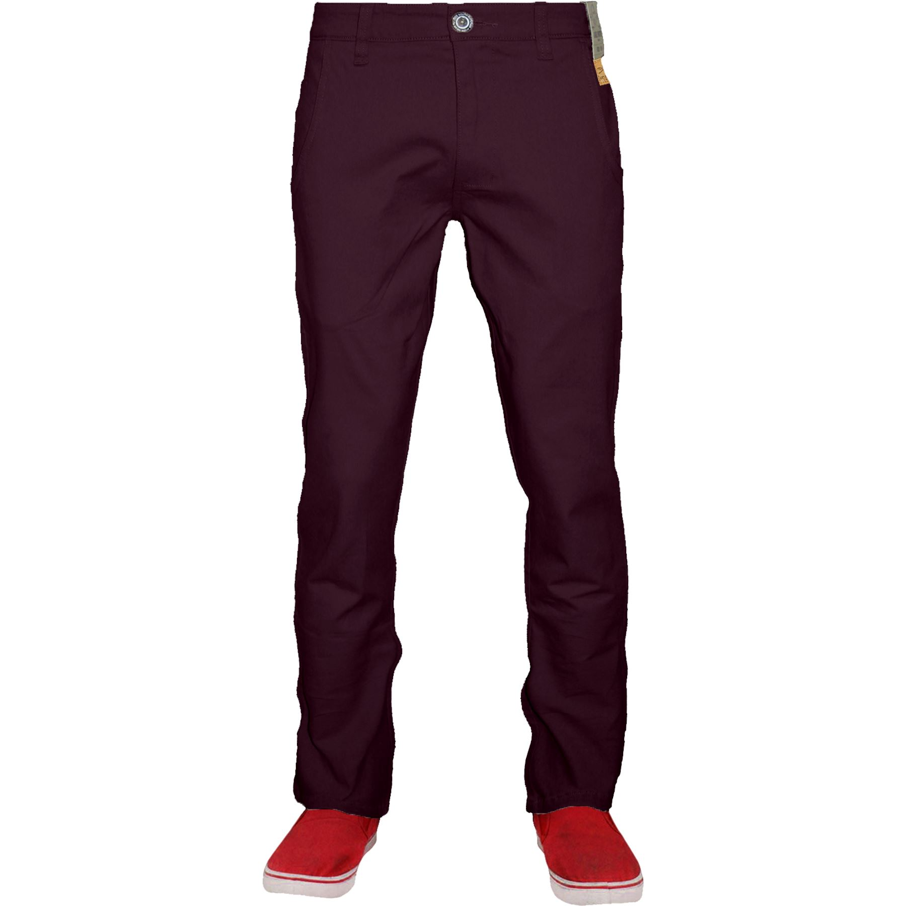 Mens-Chino-Classic-Regular-Fit-Trouser-Casual-Stretch-Spandex-Pants-Size-32-40 thumbnail 17