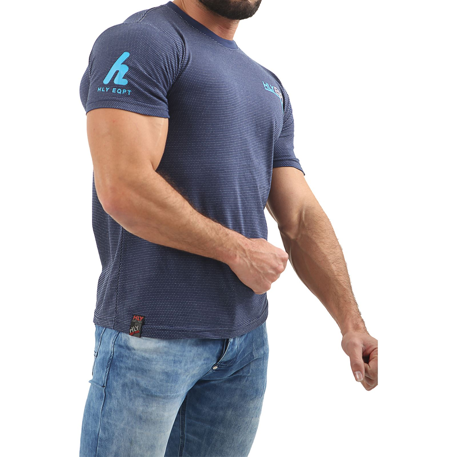 Mens-HLY-EQPT-Printed-T-Shirt-100-Cotton-Gym-Athletic-Training-Tee-Top-Summer thumbnail 36