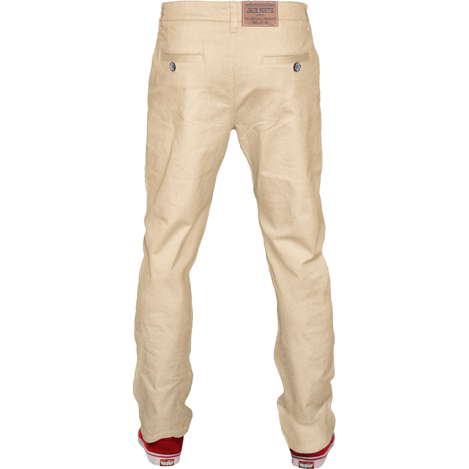 Mens-Chino-Classic-Regular-Fit-Trouser-Casual-Stretch-Spandex-Pants-Size-32-40 thumbnail 25