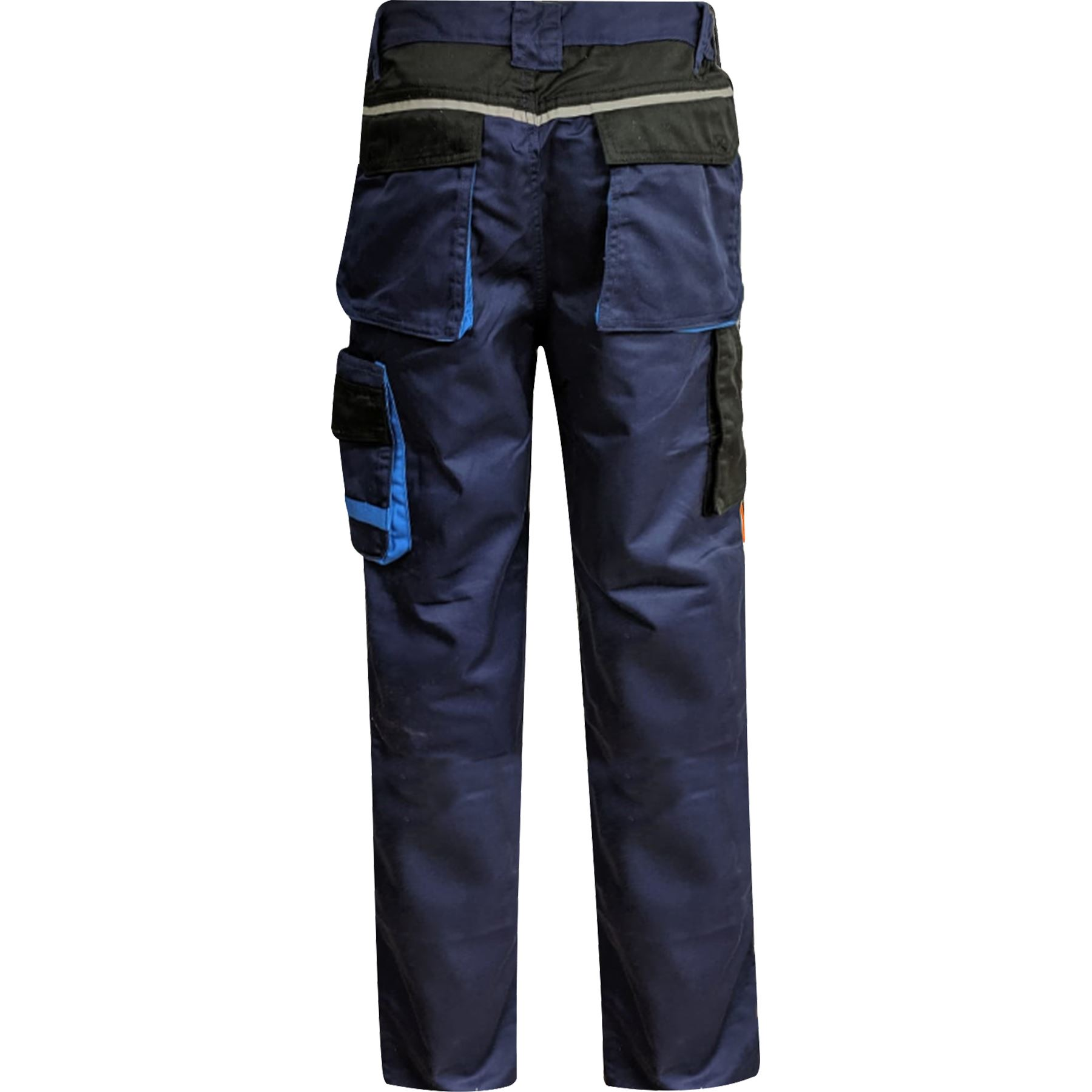 Para-Hombre-Elastico-Cargo-Pantalones-De-Trabajo-Cordura-Resistente-Rodilleras-Bolsillos-Hi-Vis miniatura 7