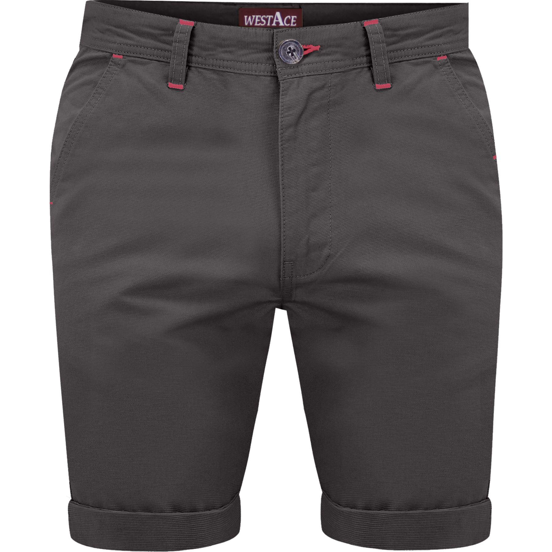 Mens-Chino-Shorts-Cotton-Summer-Casual-Jeans-Cargo-Combat-Half-Pants-Casual-New thumbnail 10