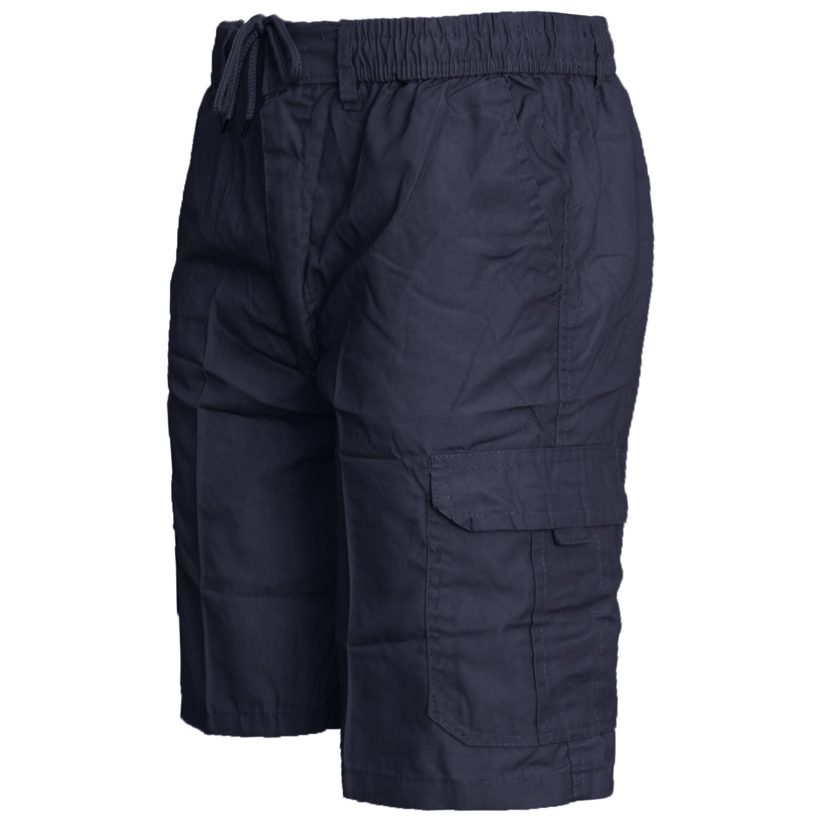 MENS-ELASTICATED-KNEE-LENGTH-OR-3-4-SHORTS-CARGO-COMBAT-MULTI-POCKET-SUMMER-PANT thumbnail 15