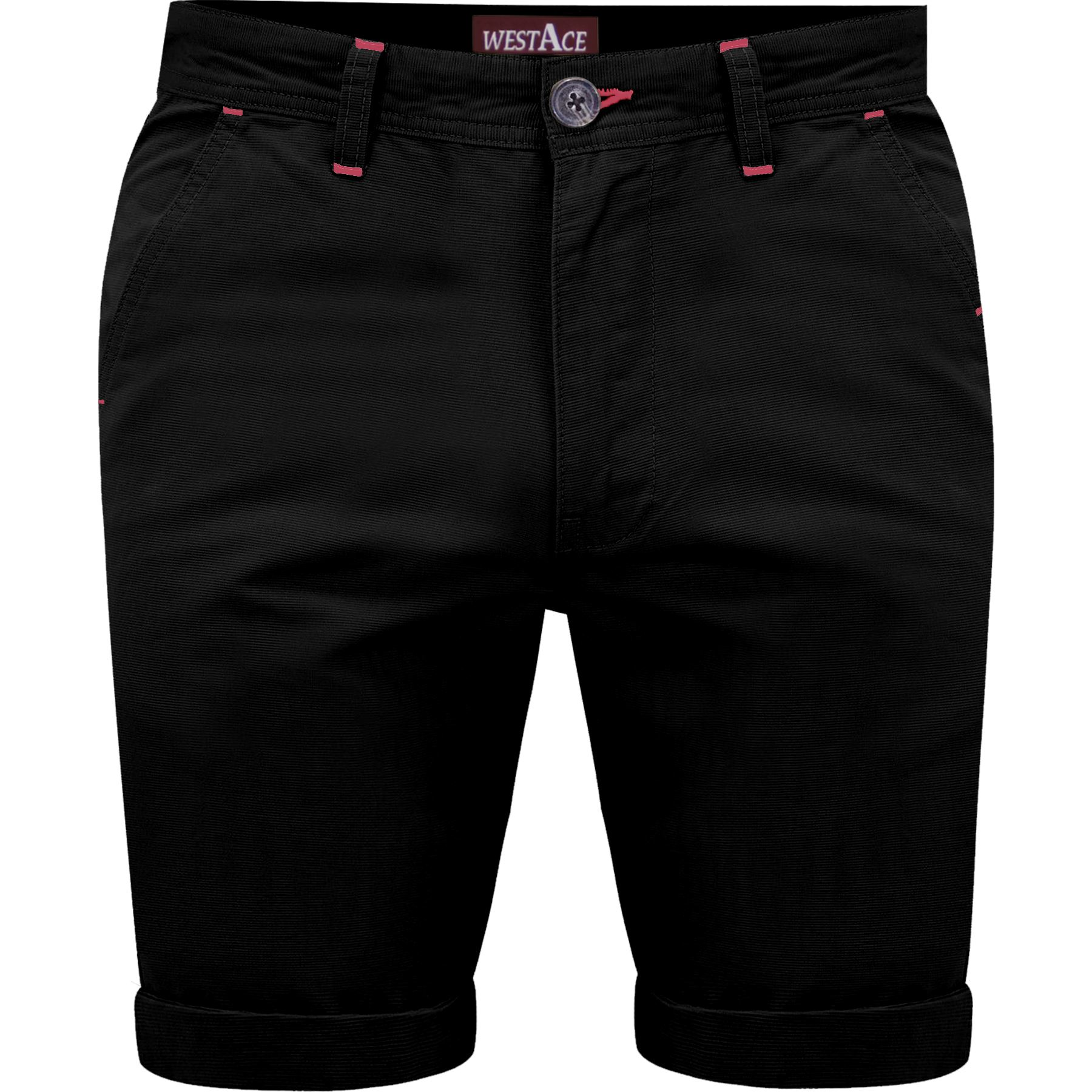 Mens-Chino-Shorts-Cotton-Summer-Casual-Jeans-Cargo-Combat-Half-Pants-Casual-New thumbnail 3
