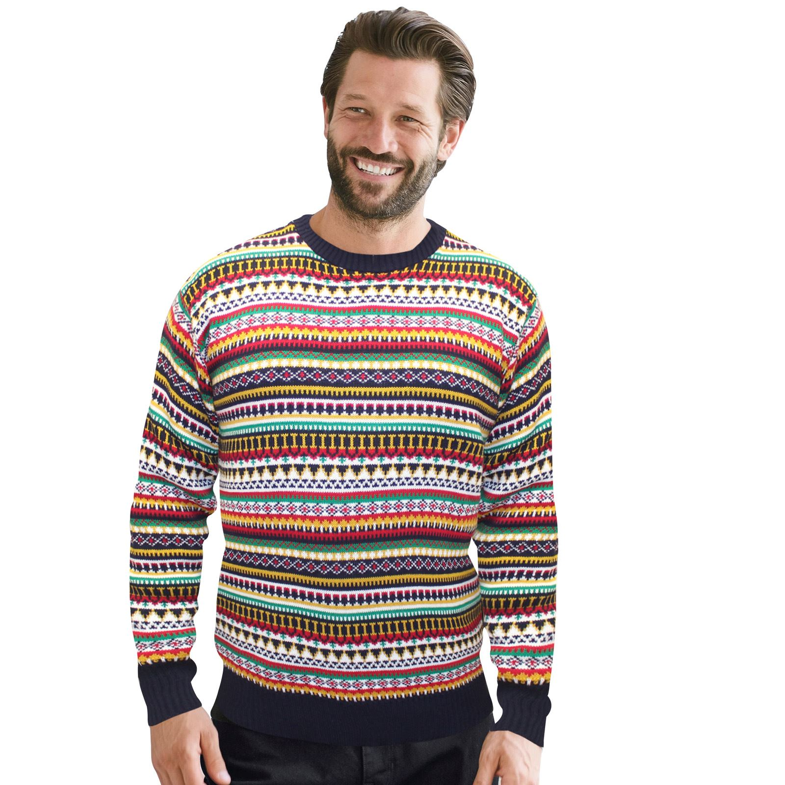 Christmas-Xmas-Jumper-Sweater-Unisex-Retro-Novelty-Vinatage-Ladies-Mens-New