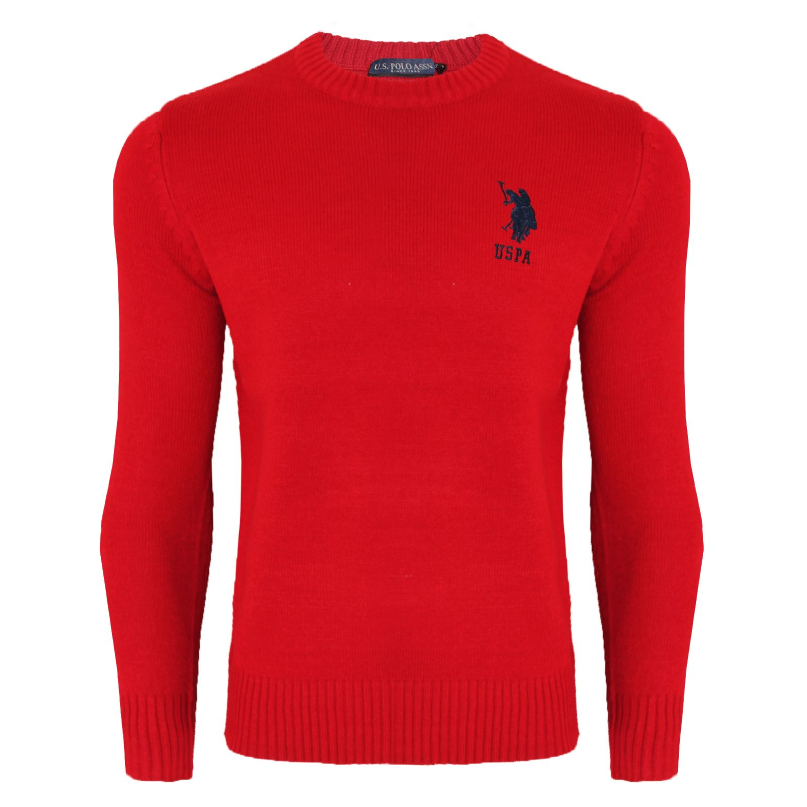Mens-Branded-Designer-Cable-Knit-Jumpers-Pullover-Sweater-For-Men-Lauren