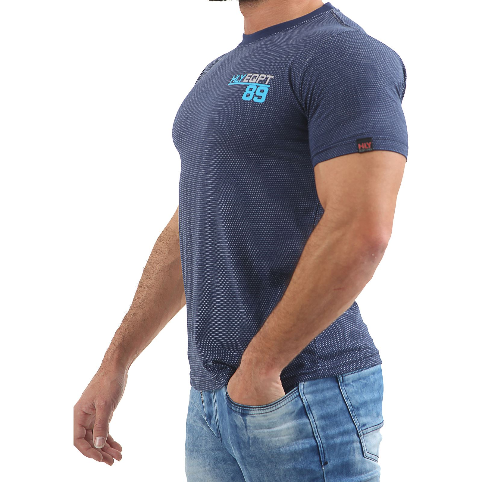 Mens-HLY-EQPT-Printed-T-Shirt-100-Cotton-Gym-Athletic-Training-Tee-Top-Summer thumbnail 37
