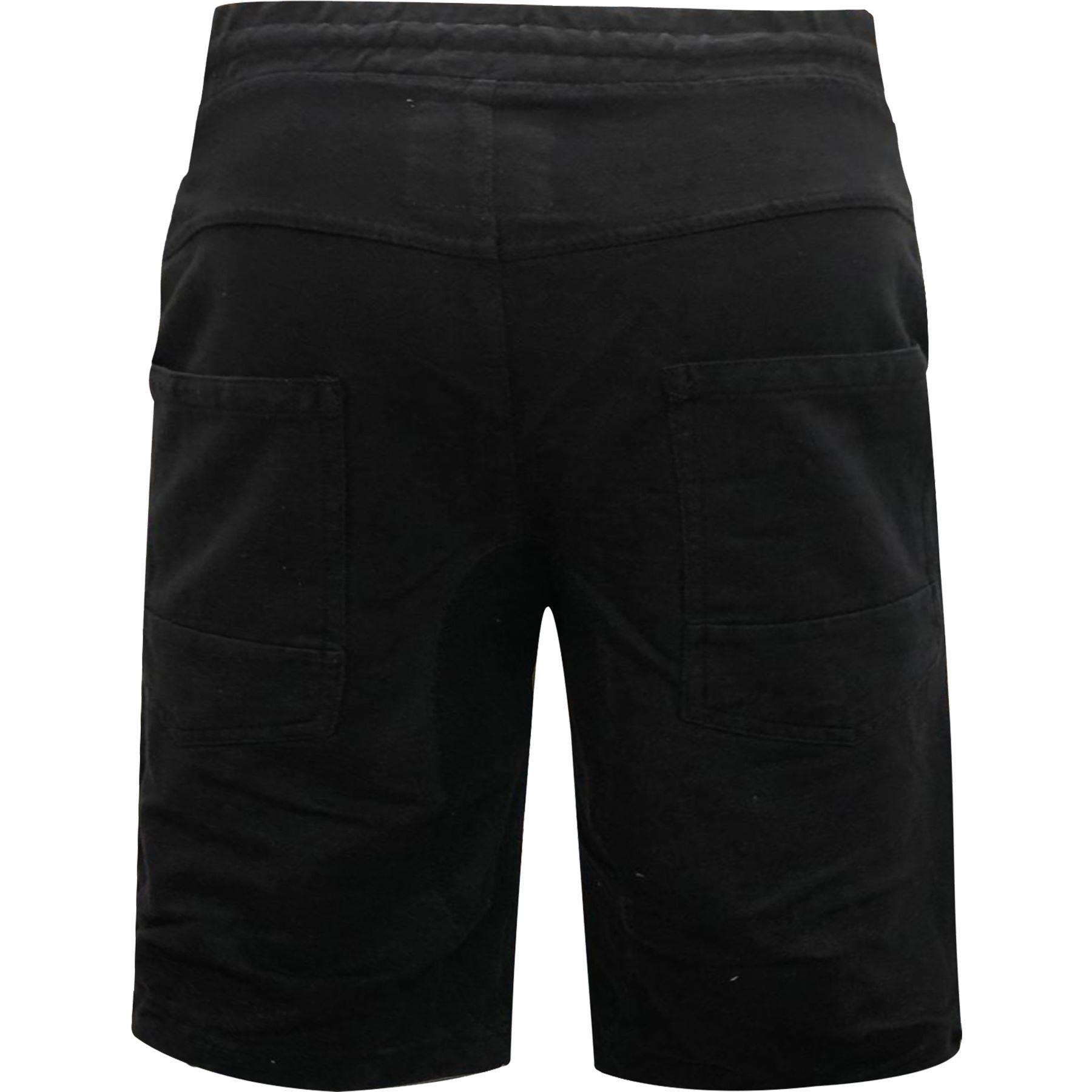 Para-hombre-Pantalones-cortos-de-mezclilla-con-aspecto-envejecido-rasgada-Deshilachado-Stretch-Jean miniatura 3