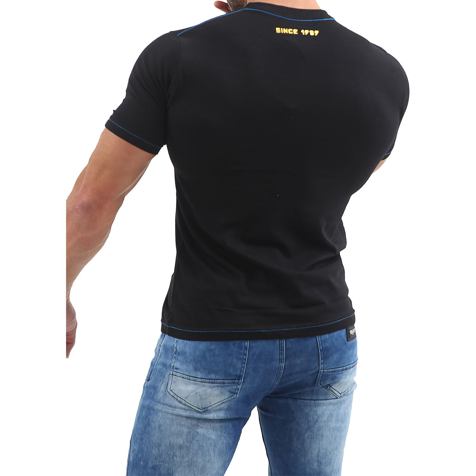 Mens-HLY-EQPT-Printed-T-Shirt-100-Cotton-Gym-Athletic-Training-Tee-Top-Summer thumbnail 6