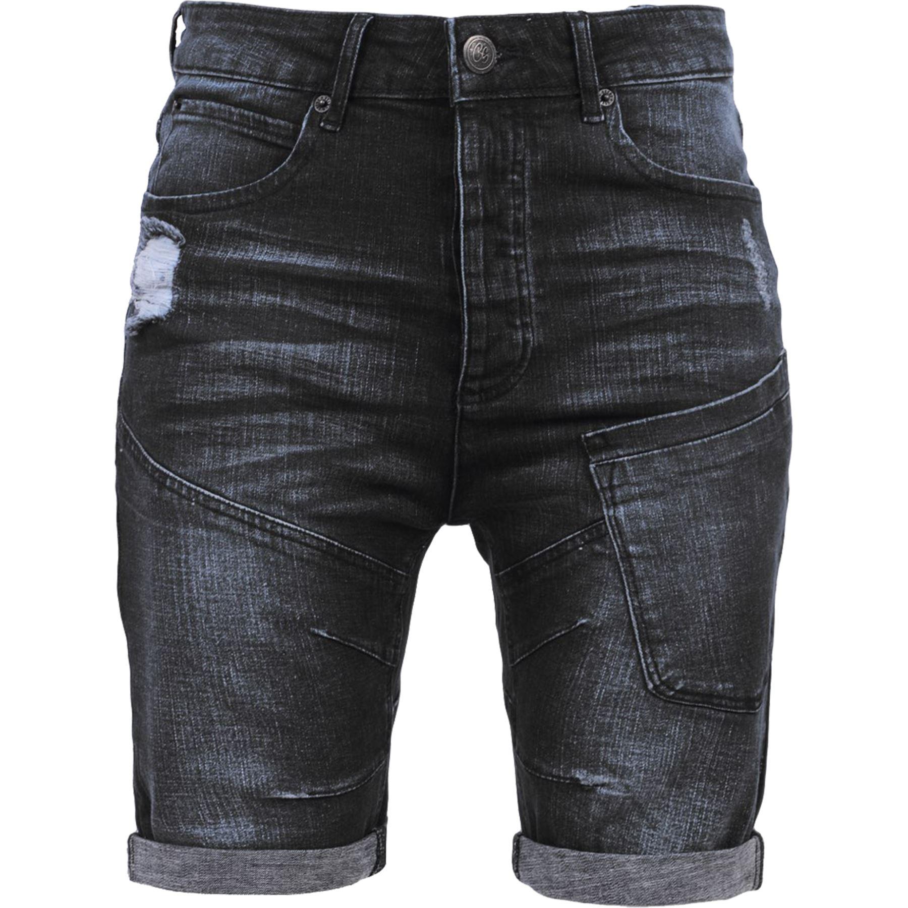 New-Mens-Crosshatch-Canvas-Cargo-Denim-Camo-Shorts-Chino-2019-Styles-30-42-034 thumbnail 48
