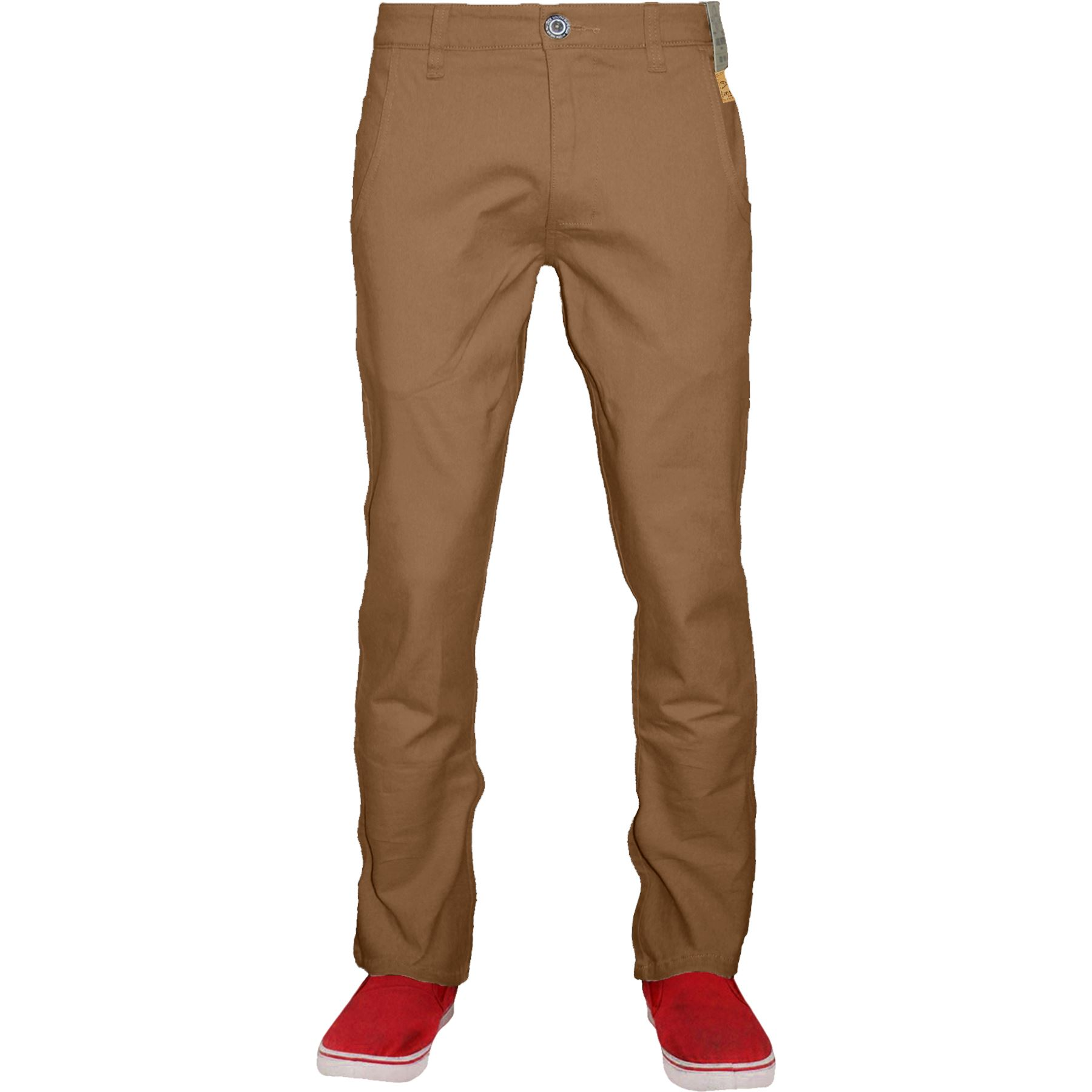 Mens-Chino-Classic-Regular-Fit-Trouser-Casual-Stretch-Spandex-Pants-Size-32-40 thumbnail 26