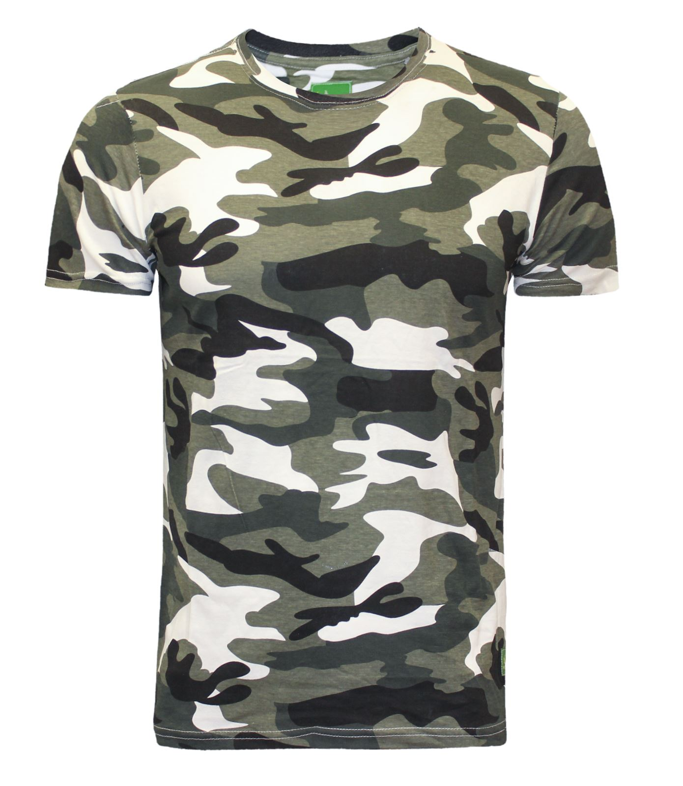 new mens military camouflage camo t shirt army combat green white blue brown ebay. Black Bedroom Furniture Sets. Home Design Ideas
