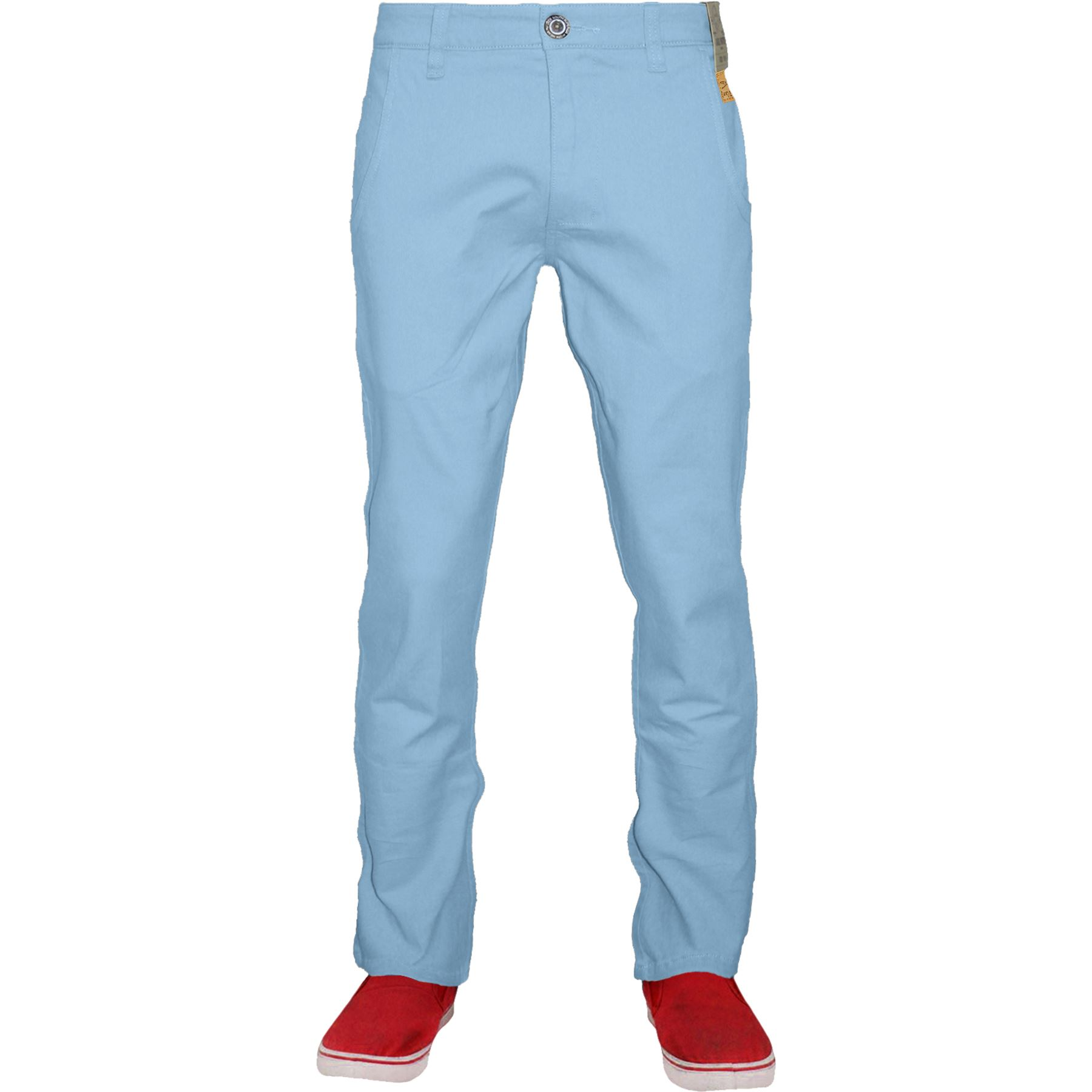 Mens-Stretch-Chino-Jacksouth-Designer-Regular-Fit-Straight-Leg-Trousers-Cotton thumbnail 11