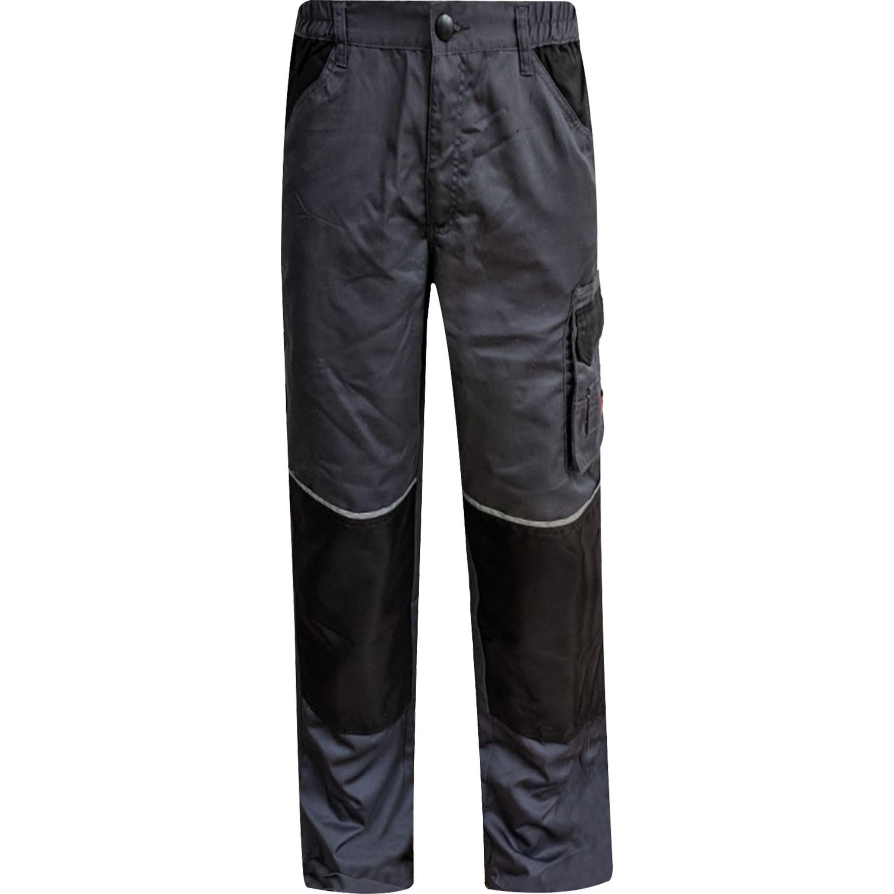 Para-Hombre-Elastico-Cargo-Pantalones-De-Trabajo-Cordura-Resistente-Rodilleras-Bolsillos-Hi-Vis miniatura 9