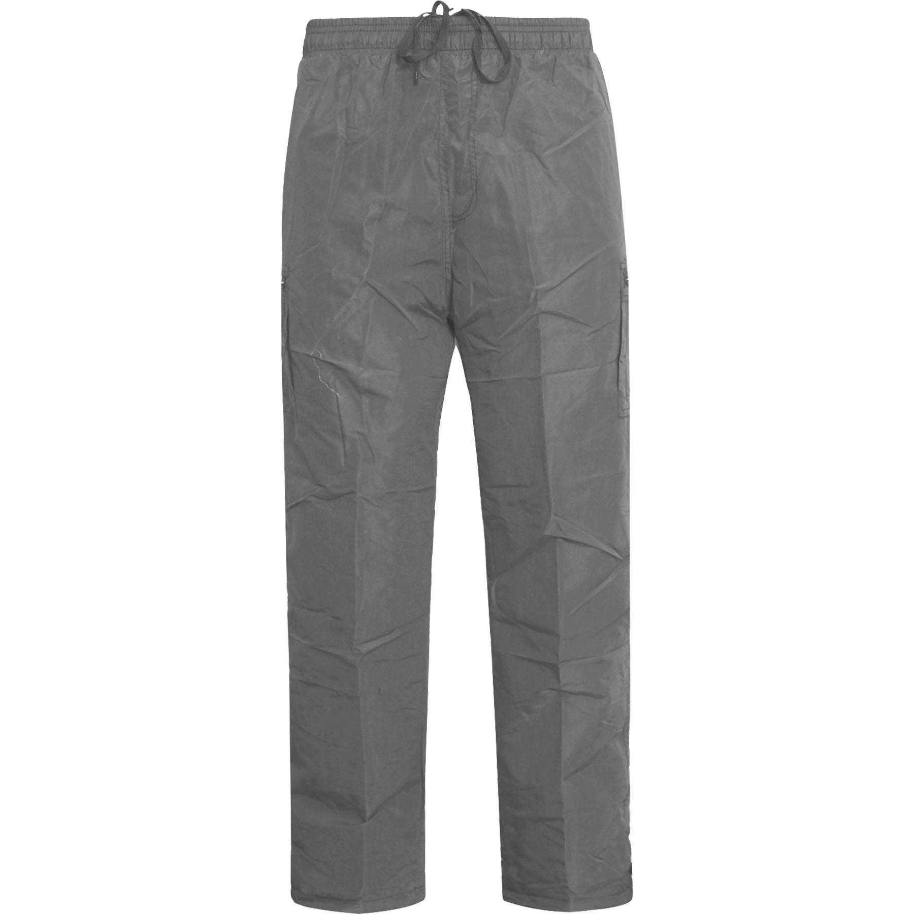 New-Mens-Lightweight-Elasticated-Cargo-Trousers-Combat-Work-Pants-Bottoms-M-XXL thumbnail 4